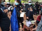 Fakta Pelajar SMP Ikut Demo UU Cipta Kerja : Bawa Batu, Pasta Gigi, Pentungan, Pinjam Almamater Ibu