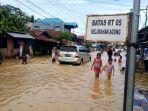 Banjir Kalsel Meluas, Luapan Sungai Tabalong Rendam Pinggiran Kota, Permukiman, dan Jalan Utama