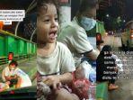 Viral Polwan Bertemu Bocah Pencari Barang Bekas di Pinggir Jembatan yang Menunggu Dijemput Orang Tua