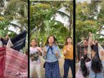 Viral Video Jemimah Challenge Pakai Sarung dan Jarik, Konsepnya Hanya Dibuat 15 Menit