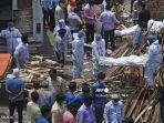 India Catat Lebih dari 4.000 Kematian akibat COVID-19 dalam Sehari