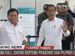 Di Hadapan Prabowo, Jokowi Jawab Pertanyaan Kemungkinan Koalisi dengan Gerindra