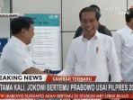 Jokowi Bilang Tak Ada Lagi Istilah 'Cebong' dan 'Kampret', Prabowo Setuju