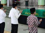 Jokowi: Artidjo Alkostar Penegak Hukum dan Dewas KPK yang Jujur dan Berintegritas Tinggi