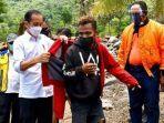 Cerita Frans dapat Jaket dari Jokowi: Saya Teriak-teriak Cinta Pak Jokowi dan Bilang 3 Periode