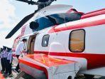 Tiba di Sikka, Jokowi Lanjutkan Perjalanan Gunakan Helikopter ke Lokasi Bencana Lembata