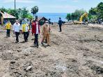 Jokowi Tinjau Lokasi Bencana di Lembata NTT, Serap Keluhan Mahalnya Harga BBM