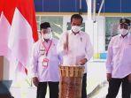 Mengenal Alat Musik Tifa, Yang Ditabuh Presiden Jokowi saat Meresmikan Terminal Bandara Kuabang