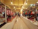 Omzet Penjual Daging Sapi di Pasar Ciputat Tangsel Menurun