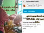 VIRAL Pemuda Diam-diam Beli Jualan Ibunya Lewat Ojek Online, Kasihan Lihat Dagangan Sepi Pembeli
