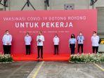 Vaksinasi Gotong Royong Dimulai, Jokowi Berharap Bisa Pulihkan Ekonomi dan Percepat Target Vaksinasi