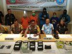 Tiga Orang Ini Bawa 13 Kg Sabu Dari Aceh, Tertangkap di Cianjur