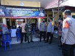 Kapolda Kalsel Tinjau Vaksinasi Massal di Polsek Banjarmasin Tengah