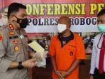 Kades di Grobogan Ditangkap Dalam Kondisi Linglung Usai Hisap Ganja di Rumahnya