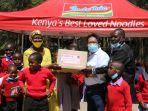 KBRI Kerja Sama dengan Indomie Kenya Beri Bantuan untuk Anak Kurang Mampu