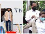 Kedatangan Jokowi di Kendari, Disambut Demo Penolakan hingga Berikan Jaketnya ke Artis TikTok