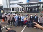 IMI Bersama Prestige Motorcars Hibahkan Mobil Listrik Tesla kepada Korlantas Polri
