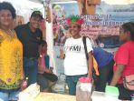 Eksis di Festival Crossborder Skouw, GenPI Papua Angkat Pesona Desa Tablasupa
