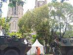 Jelang Perayaan Jumat Agung, TNI-Polri Lakukan Penyisiran di Gereja Katedral Jakarta