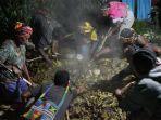 Pasca-Baku TembakSituasi di Ilaga Papua Kondusif, Warga Persiapan Tradisi Bakar Batu