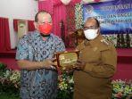 Ramah Tamah dengan Walikota, Ketua DPD RI Siap Dukung Pembangunan Sorong