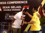 Sean Gelael Berterimakasih kepada Bambang Soesatyo