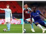 JADWAL Live Final Liga Champions Manchester City vs Chelsea: Perang Lini Tengah, De Bruyne vs Kante