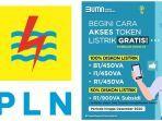 LOGIN www.pln.co.id untuk Akses Token Listrik Gratis PLN Bulan Oktober 2020, atau WA ke 08122123123