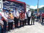 Pelayaran Perdana Tol Laut KM Logistik Nusantara 2 Tiba di Kabupaten Fakfak
