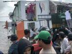 KMP Bili Terbalik di Sambas, Penumpang Panik dan Berhamburan Saat Kapal Mengalami Putus Tali