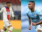 PREDIKSI Line-up PSG vs Manchester City, Adu Tajam Striker Timnas Brasil, Neymar vs Gabriel Jesus