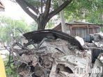Pengemudi dan Penumpang Tewas Terlempar dari Mobilnya Setelah Ditabrak Kereta Api di Sukodadi