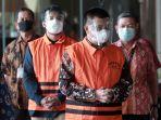 Bupati Bandung Barat Aa Umbara dan Anaknya Kompak Bungkam Saat Ditahan KPK, Ini Foto-fotonya