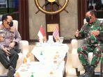 Kapolri - KSAL Sepakat Tingkatkan Sinergitas Keamanan dan Penegakan Hukum di Perairan Indonesia