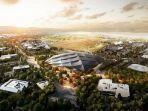 Markas Baru Google, Area Perkantoran 12 Hektar Hingga Ada Taman Rekreasi dan Perumahaan