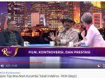 Soal Panutan Moral Film, Garin Nugroho: Kebaikkan Tidak Mungkin Tumbuh Tanpa Adanya Kejahatan