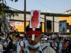 Demonstran Myanmar Berjatuhan, Indonesia Minta Aparat Menahan Diri