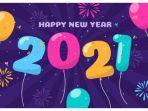 Kumpulan Kartu Ucapan Selamat Tahun Baru 2021 Dilengkapi Kutipan Berbahasa Inggris dan Terjemahan