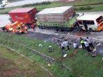 Penyebab Kecelakaan Maut di Tol Cipali KM 78 Masih dalam Peyelidikan