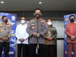 Kapolri Ancam Beri Sanksi Pidana Jika Gagalkan Vaksinasi Nasional
