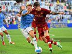 Aksi Nyeleneh Zaniolo dan Lucas Leiva Kembali Sulut Persaingan AS Roma dan Lazio