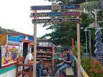 Menikmati Senja di Taman Baca Lentera Kota Tua, Lokasi Wisata Budaya Baru di Padang
