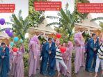 VIRAL Video Bocah Rusak Momen Romantis Pengantin Saat Prosesi Lepas Balon, Begini Cerita di Baliknya