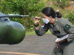 Mengenal Letda Anong Penerbang Helikopter Cantik Ikut Operasi Salurkan Beras ke Pedalaman Kalimantan