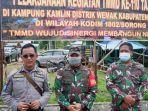 Prajurit Satgas TMMD Bersama Warga Bahu Membahu Bangun 8 Unit Rumah di Sorong Papua Barat