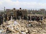 21 Orang Tewas dalam Bom Bunuh Diri di Afghanistan, Tak Ada Laporan Siapa yang Bertanggung Jawab