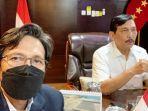 Luhut Binsar Pandjaitan Ketua Umum PB PASI Periode 2021-2025