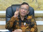 Punya List Aktor Kerusuhan Demo Tolak UU Cipta Kerja, Mahfud MD : Ndak Ada Nama SBY