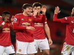 Manchester United vs Wolves, Liga Inggris, Kesempatan The Red Devils Sodok Runner-up