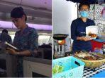 Viral di Medsos, Pramugari Jualan Nasi Kukus Ayam Rempah Setelah di PHK Akibat Pandemi